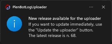 Update reminder